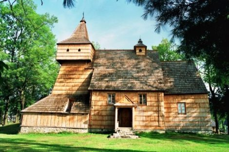Kościół św. Marcina w Grywałdzie, koło Szczawnicy, parafia Grywałd kościół