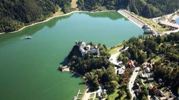 Zapora w Niedzicy, Zapora wodna na Zbiorniku Czorsztyńskim