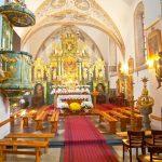 kacwin atrakcje turystyczne kościół wnętrze