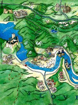 Szczawnica mapa