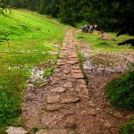 Dubantowska Dolina - ściezka z wąwozu Homole