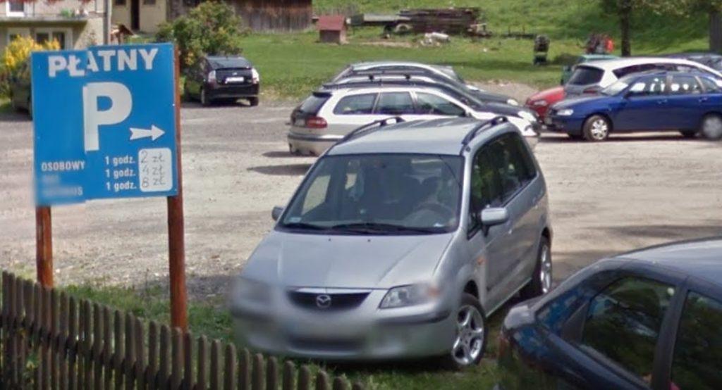 parking płatny Jaworki