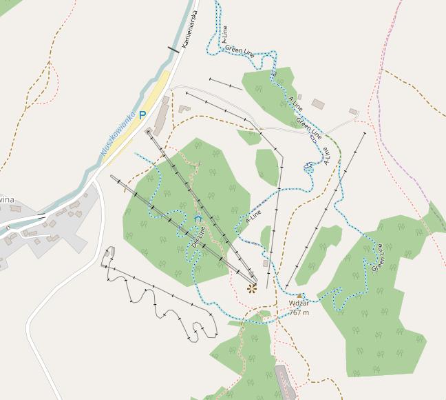 Ośrodek narciarski w Kluszkowcach, w Pieninach