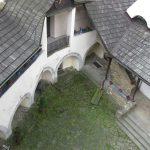 Widok na dziedziniec Zamku Niedzica