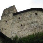Zwiedzanie murów zewnętrznych Zamku Niedzica