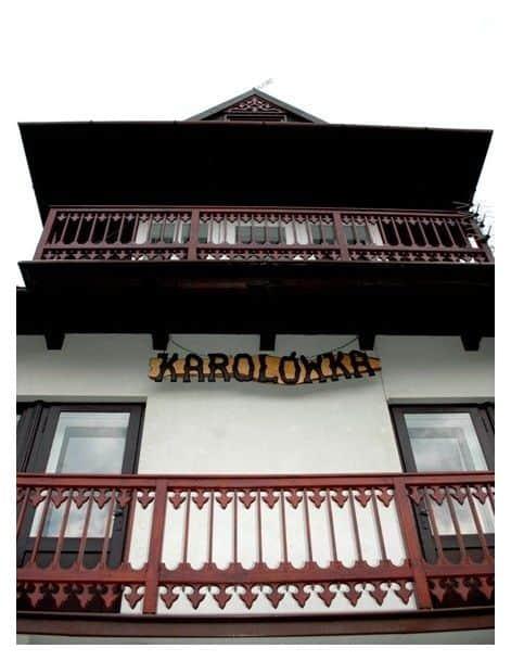 Willa Karolówka do wynajęcia pokoje w Szczawnicy