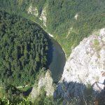 Widok na Przełom Dunajca z Sokolicy