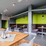 wnętrz restauracji Flis przystań flisacka w Kątach koło Sromowców WYżnych