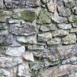 mury zamku pieniny