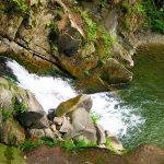 wodospad zaskalnik zdjęcie z góry