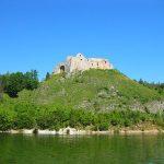 zdjęcie zamku czorsztyn